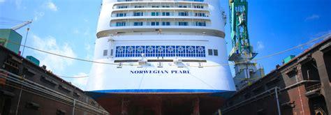 norwegian cruise lines pearl grand bahama shipyard