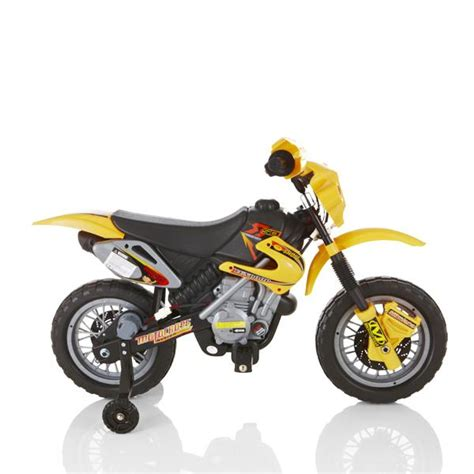 Zoom Yellow Childrens Bike 6v Electric Motorbike Kids