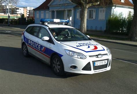 fileford focus sw police nationale strasbourg janvier