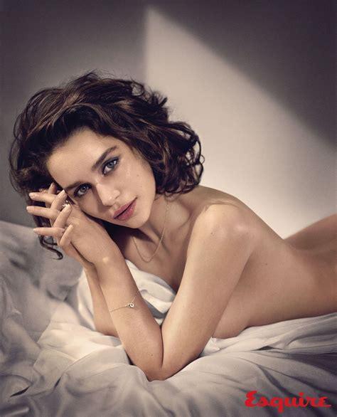 Esquire Crowns 'game Of Thrones' Star, Emilia Clarke