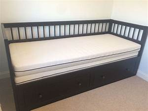 ikea sundik bed frame extendable with single mattress With extendable sofa bed