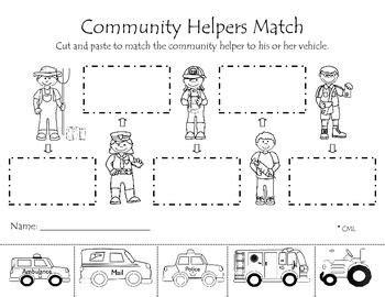 99 about community helpers preschool theme on