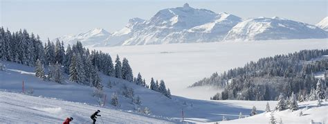 les gets s 233 jour ski 224 les gets domaine skiable station de ski portes du soleil