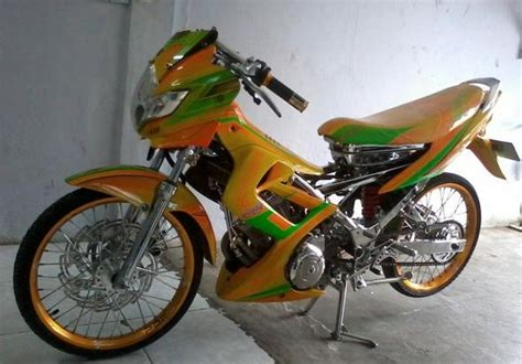 Modifikasi Motor Satria Fu Terbaru by 350 Modifikasi Motor Satria Fu Terbaru 2014