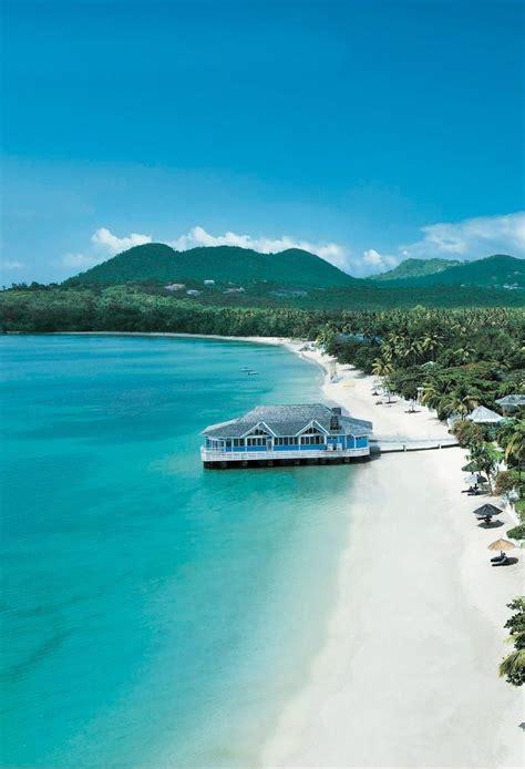 Saint Lucia Caribbean Sea Places Pinterest