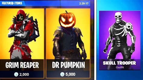 fortnite  halloween skins leaked  skins