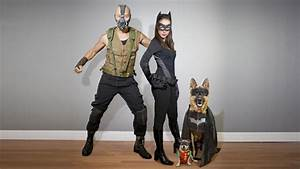 Homemade Dark Knight Rises Costumes. Bane, Catwoman ...