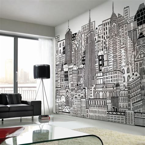 add cityscape wallpaper   home graham brown