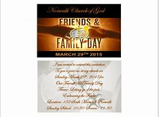 Norwalk Church of God Friends and Family Day 2015