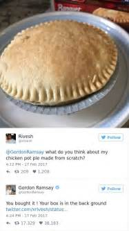 hilarious twitter replies  gordon ramsay slaying