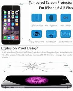 Film Iphone 6 : premium real tempered glass film screen protector for iphone 6 6s 4 7 6 6s plus ebay ~ Teatrodelosmanantiales.com Idées de Décoration
