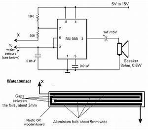 Build A Rain And Water Alarm Circuit Diagram    Diagram Guide