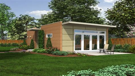 Small Backyard Guest House Plans