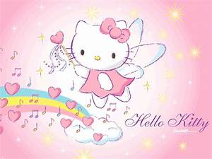Hello Kitty Wallpapers: Pink Hello Kitty Wallpaper Collection