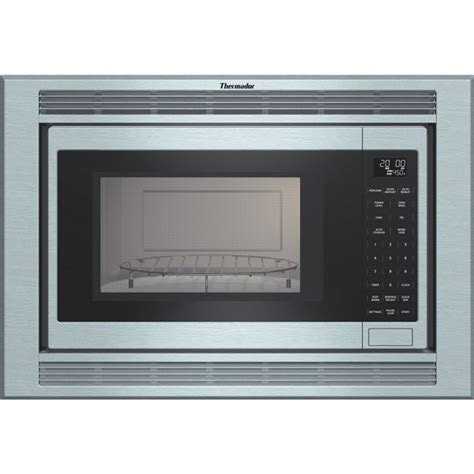 mces thermador  cu ft built  microwave oven convection