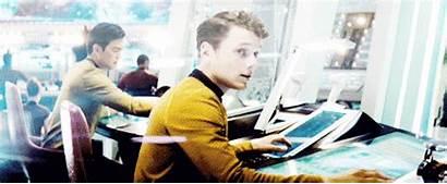 Anton Yelchin Star Trek Gifs Kirk Antosha