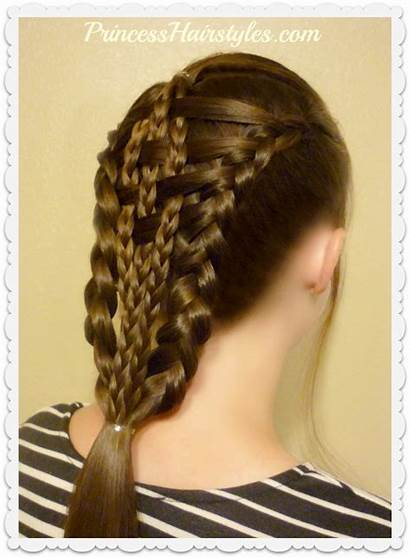 Hairstyles Checkerboard Braids Easy Neat Dutch Hairstyle