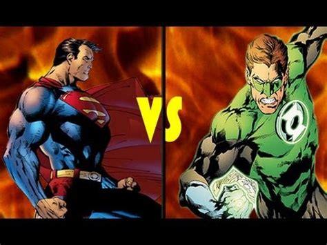 green lantern vs superman superman vs green lantern deathmatch