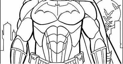Batman Colorear Coloring Dibujo Dibujos Gambar Imagenes