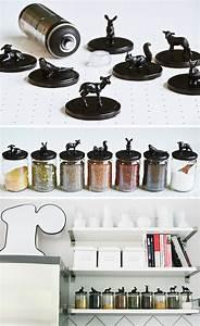 Ikea Küche Mit Elektrogeräten : meine diy vorratsgl ser und gew rz aufbewahrung in der neuen ikea k che free printable ~ Markanthonyermac.com Haus und Dekorationen