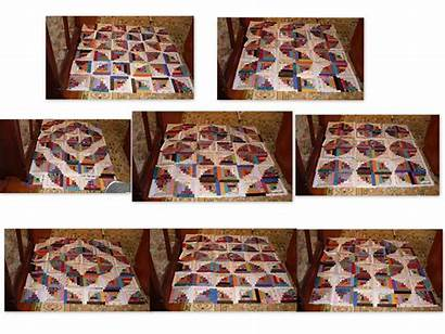 Cabin Log Quilts Quilt Curved Layouts Pattern