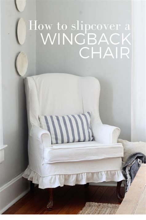 How To Make A Loveseat Slipcover by 1000 Ideas About Wingback Chair Covers On