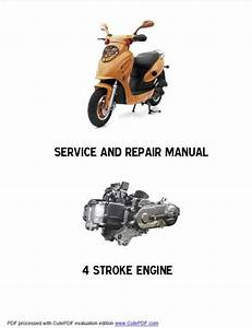 Electric Scooter Service Manual Pdf