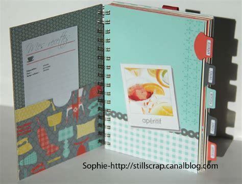 creer un livre de recette de cuisine livre de recettes still scrap de soph