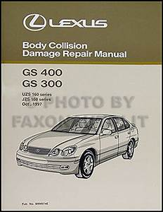 1998 Lexus Gs 300  400 Wiring Diagram Manual Original