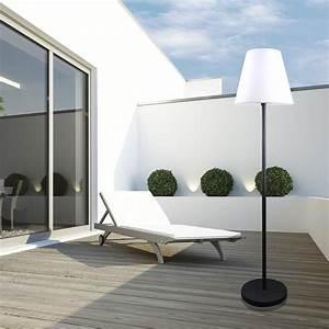 led stehleuchte fur aussen With französischer balkon mit led leuchtkugeln für den garten