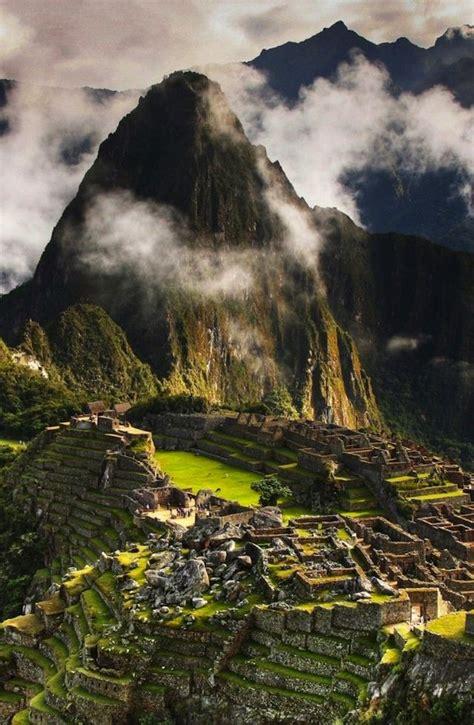 Stunning Views Of Machu Picchu Lieux Sacrés Pinterest