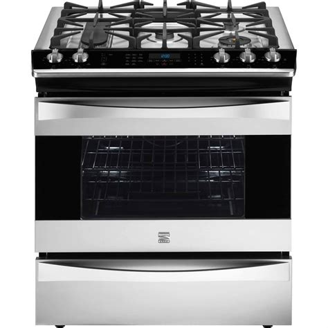 frigidaire gas stove kenmore elite 32643 4 5 cu ft slide in gas range