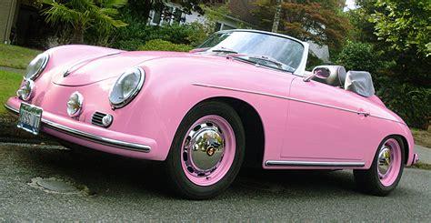 pink porsche pink porsche 356 speedster sqwabb