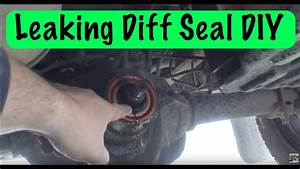 How To Replace A Rear Differential Pinion Seal