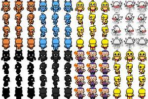 RPG Maker FNAF Sprites By Willer111 On DeviantArt
