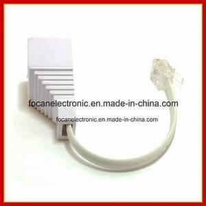 China Rj11  Rj45 Plug To Bt Socket Adapter  Uk Connector