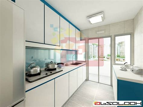 Kitchen Designs For Hdb Bto Flats  Interior Design Singapore