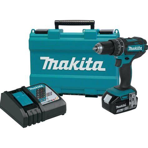 makita akkuschrauber lxt makita 18 volt lxt lithium ion cordless 1 2 in hammer drill driver kit with 3 0 ah battery