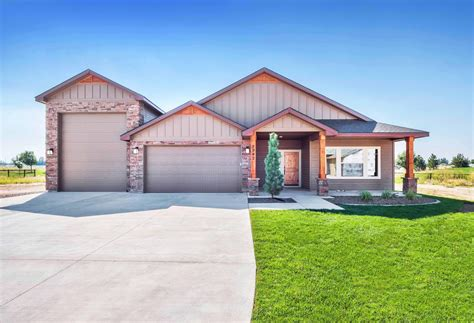 Houses With Garages by Intermountain West Homes Llc The Springs With Rv Garage