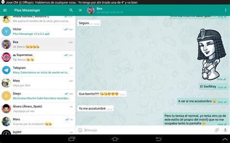 plus messenger apk free communication app for android apkpure