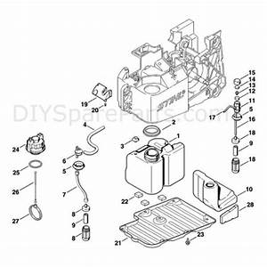 Stihl Ts 460 Disc Cutter  Ts 460  Parts Diagram  B