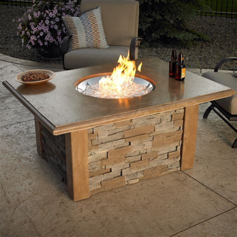 outdoor gas fireplace table have to have it outdoor greatroom sierra gas fire pit