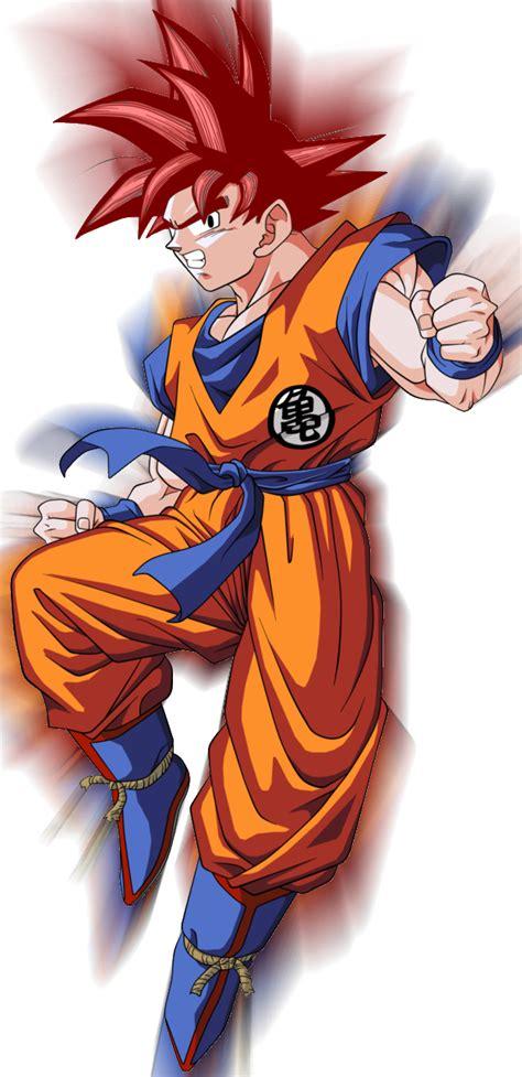 Image  Goku Ssj God V 2 By Theansemporofan003d61evn2png