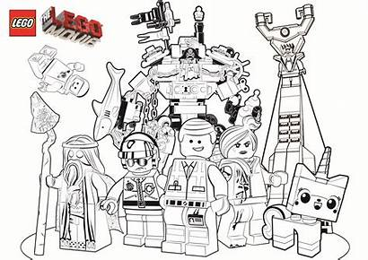 Lego Coloring Pages Characters