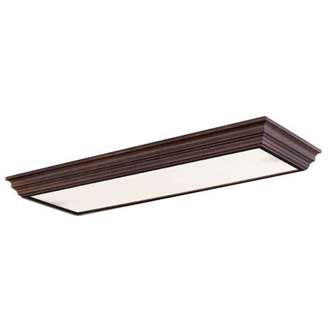 shop portfolio flush mount fluorescent light energy