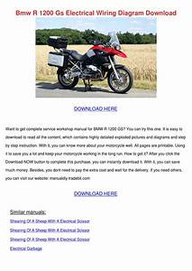 Bmw R 1200 Gs Electrical Wiring Diagram Downl By