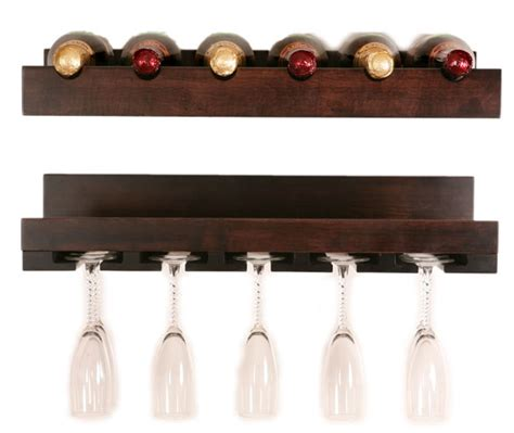 Cabinet Stemware Rack Wood by Four Seasons Furnishings Amish Made Furniture Amish Wall