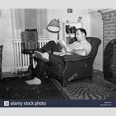1950s Living Room Stock Photos & 1950s Living Room Stock