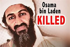 erfeidine: osama bin laden dead or alive