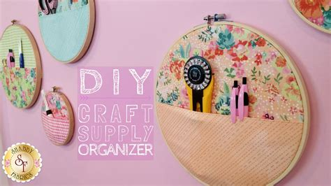 Diy Craft Supply Organizer  With Jennifer Bosworth Of